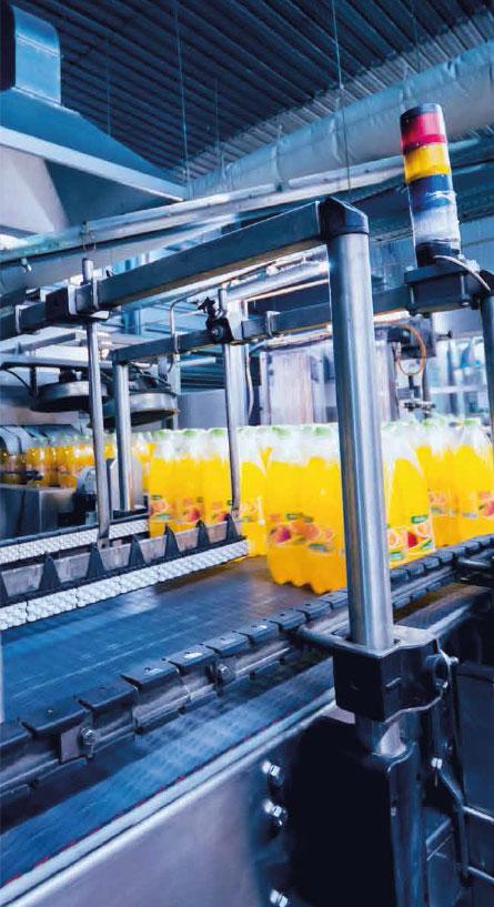 Chaine de production usine