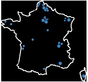 Carte France ADICI