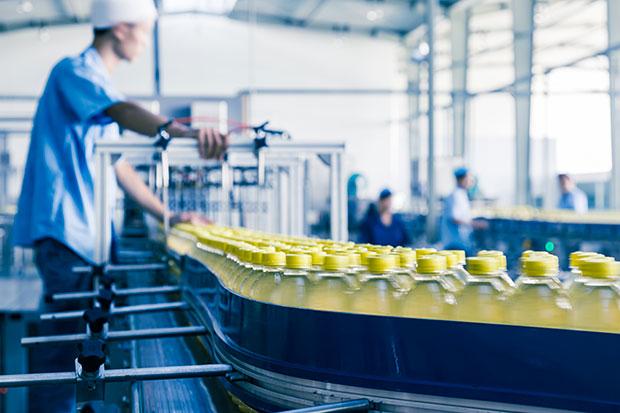 Chaine de production bouteille