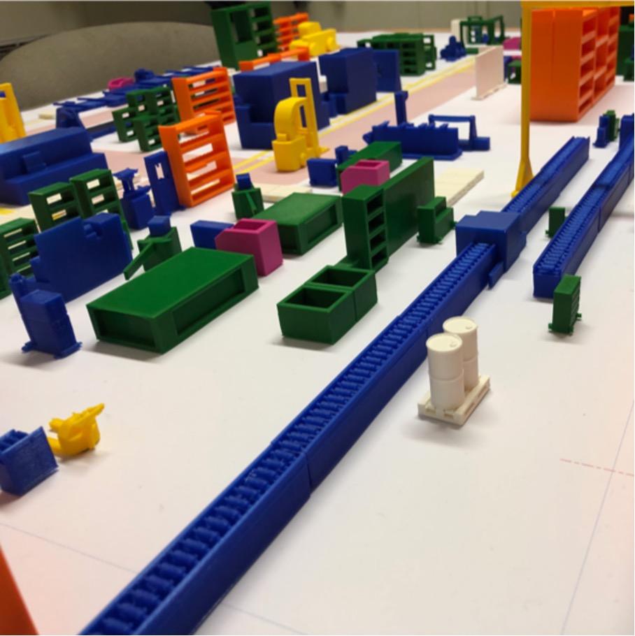 photo Plan impression 3D usine